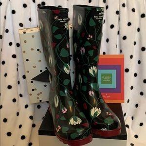 NEW! Kate Spade New York Renata Tall Rain Boots